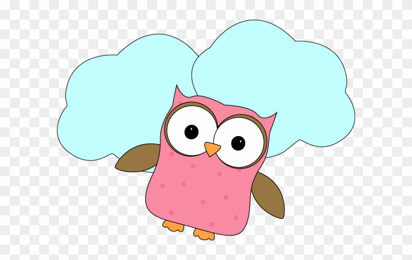 Flying Owl Clipart - Clipart Owl Thinking #8589