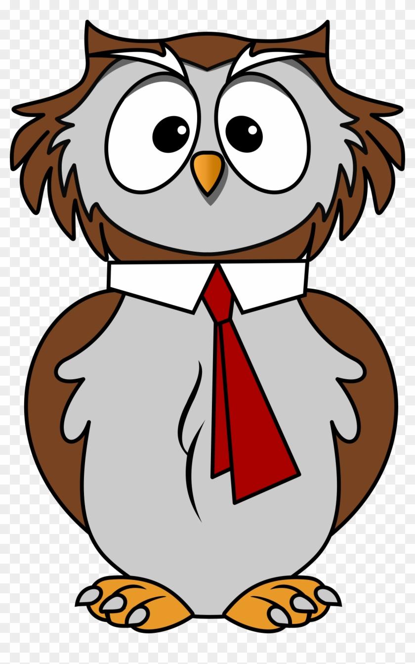 Cartoon Owl Clipart - การ์ตูน สัตว์ น่า รัก #8603