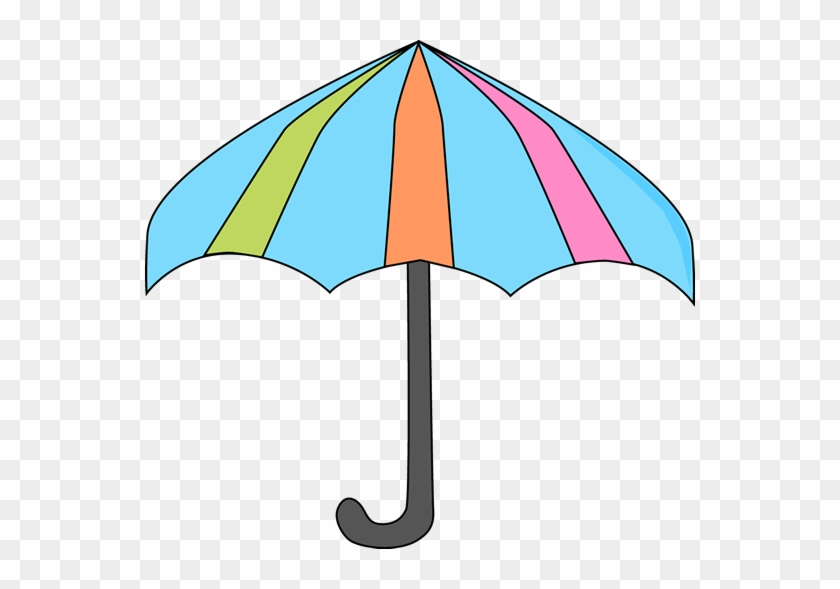 Colorful Umbrella - Umbrella Clipart #8616