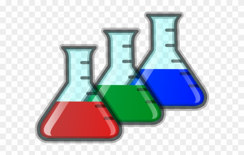 Science Beaker Clip Art - Clip Art Beakers #8635