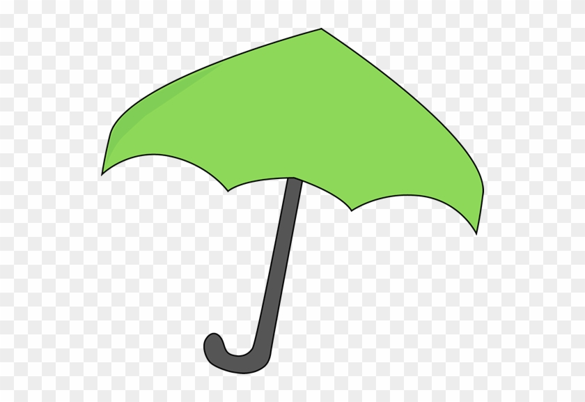 Green Umbrella - Green Umbrella Clipart #8641