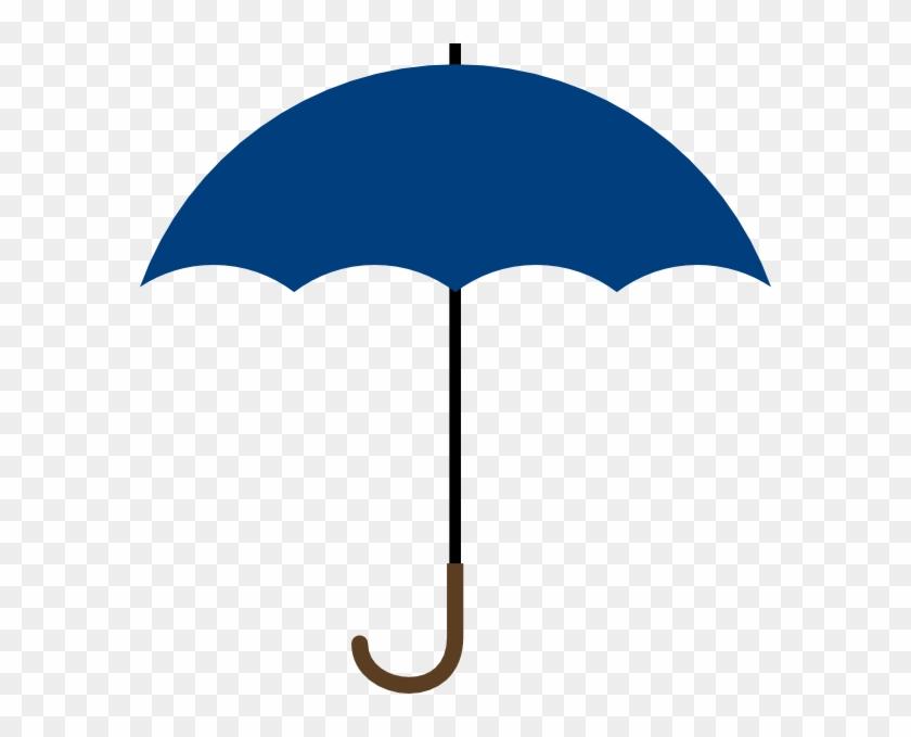 Blue Umbrella Clipart - Umbrella Clipart #8647