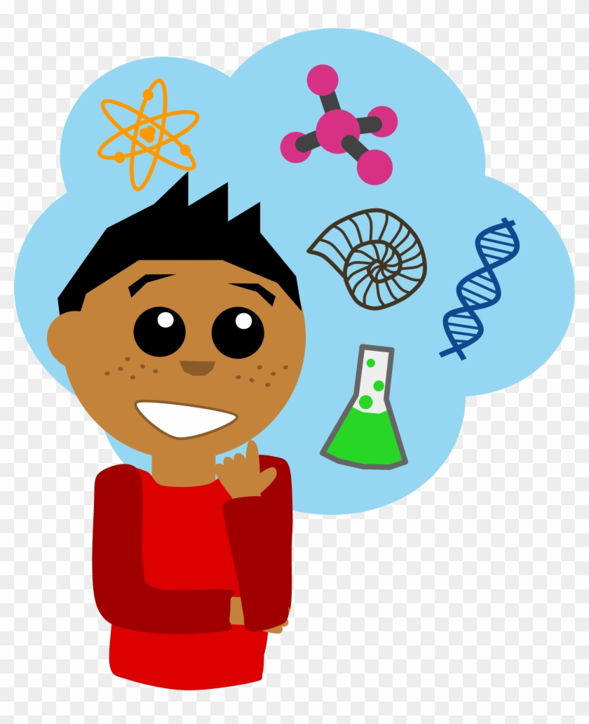 Medium Science Cliparts - Science Guy Clipart #8660
