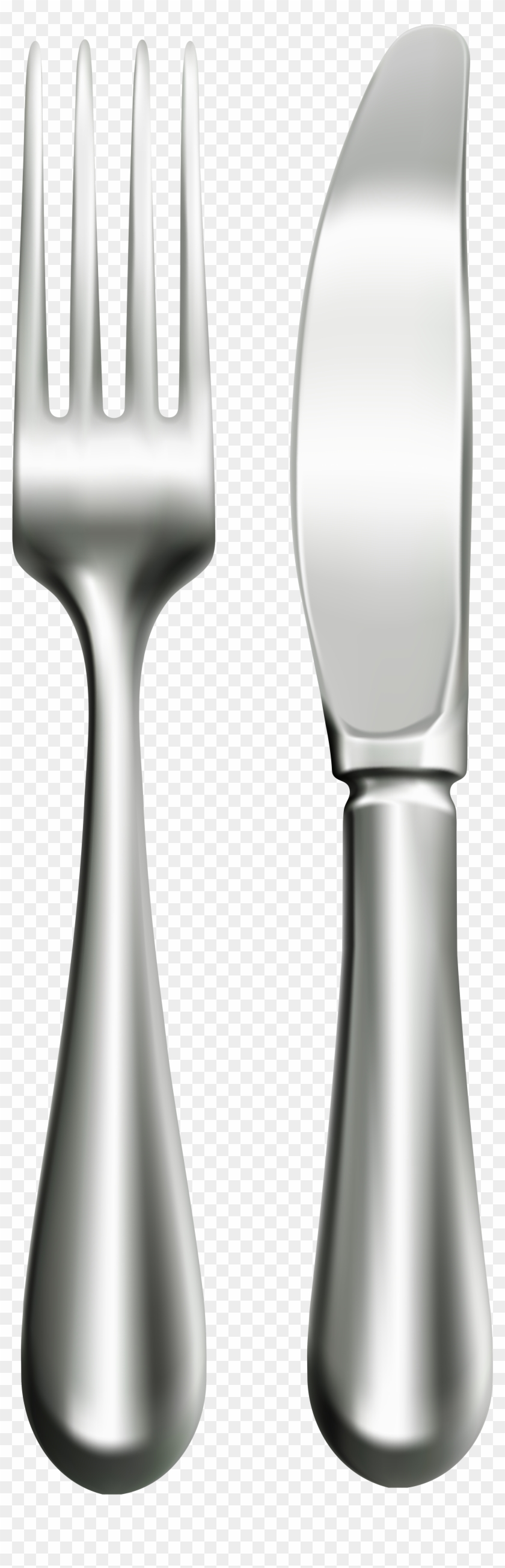 Fork And Knife Png Clip Art - Clip Art #8673