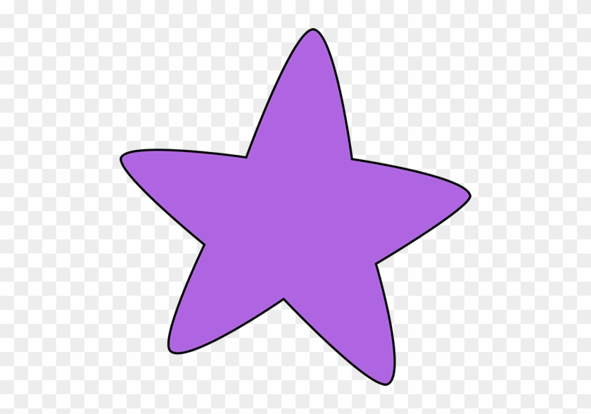Starfish Clipart - Purple Star Clip Art #8670