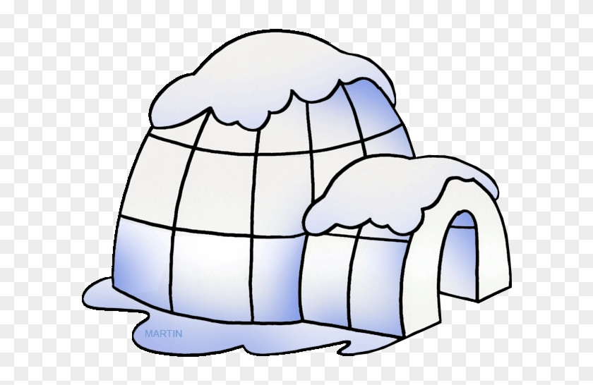 Igloo Clipart Native Americans Clip Art Phillip Martin - Igloo Clipart #8681