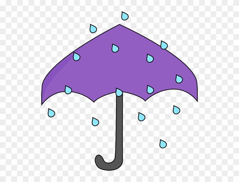Rain Umbrella - Rain Umbrella Clip Art #8684
