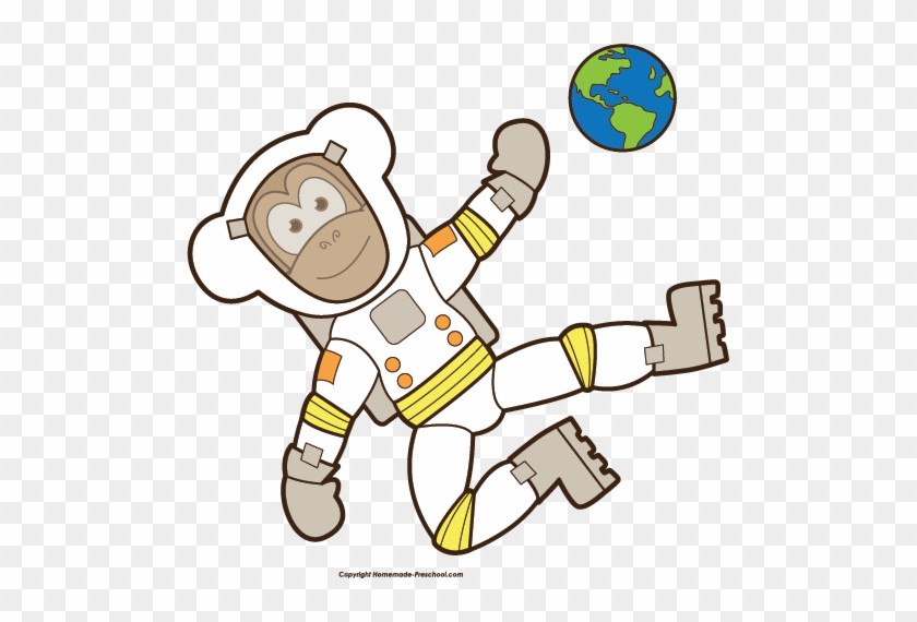Click To Save Image - Monkey In Space Png #8688