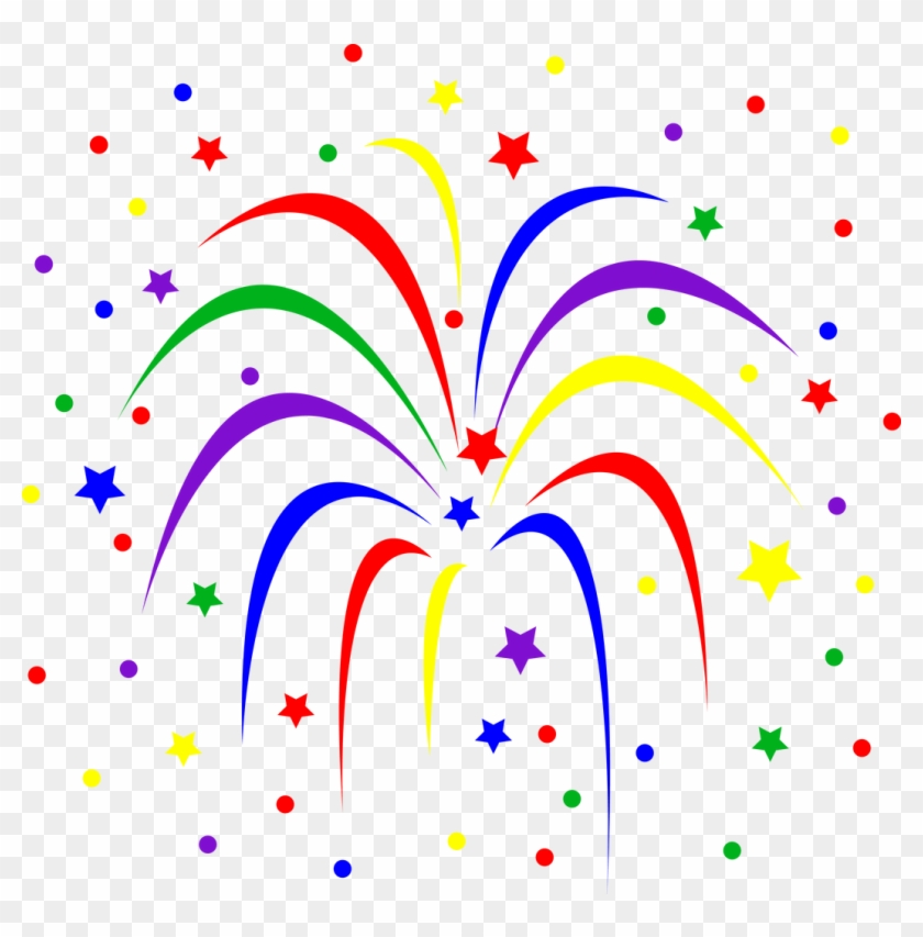 Celebration Fireworks Clip Art Fireworks Animations - Celebration Clip Art Animated #8728