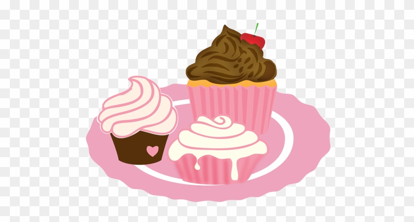 Cakes For A Tea Party - Tea And Cake Clip Art #8732