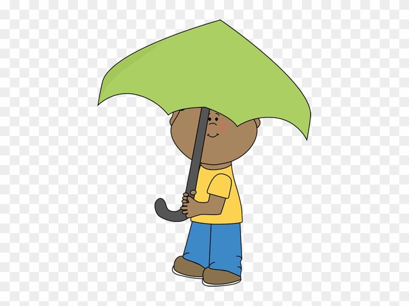 Boy Under Umbrella - Boy Under The Umbrella #8744