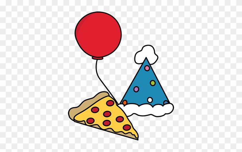 Pizza Party - Clip Art #8745
