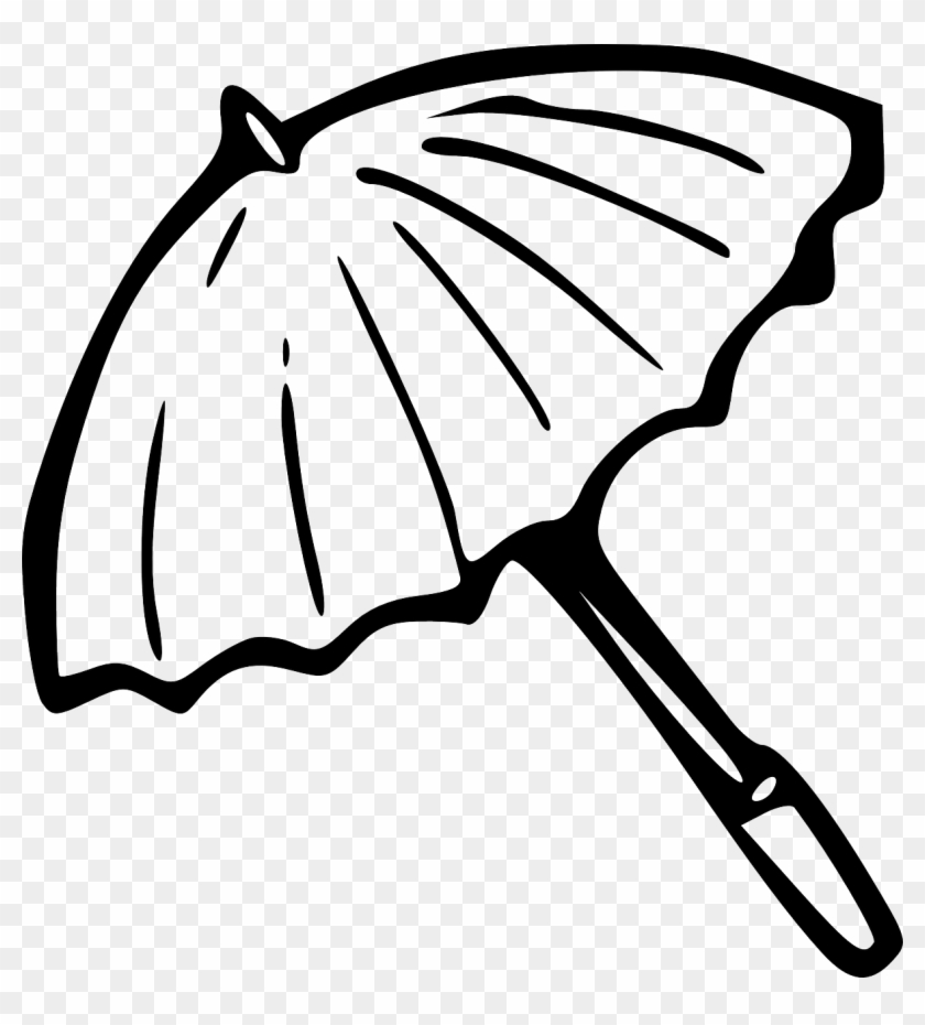Umbrella Black And White Beach Umbrella Clipart Black - Gilmore Girls, You Jump I Jump Mugs #8749