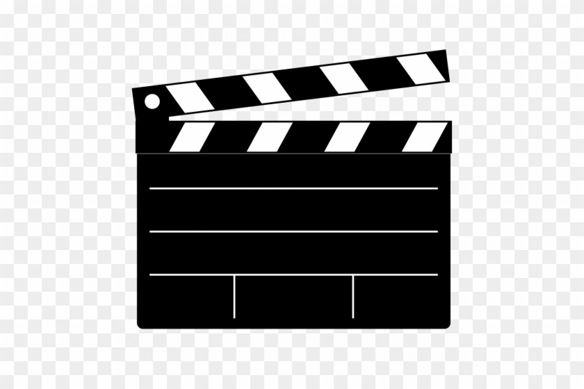 Movie 20clapper 20clipart Movie Film Clip Art 1000 - Clapper Board #8797
