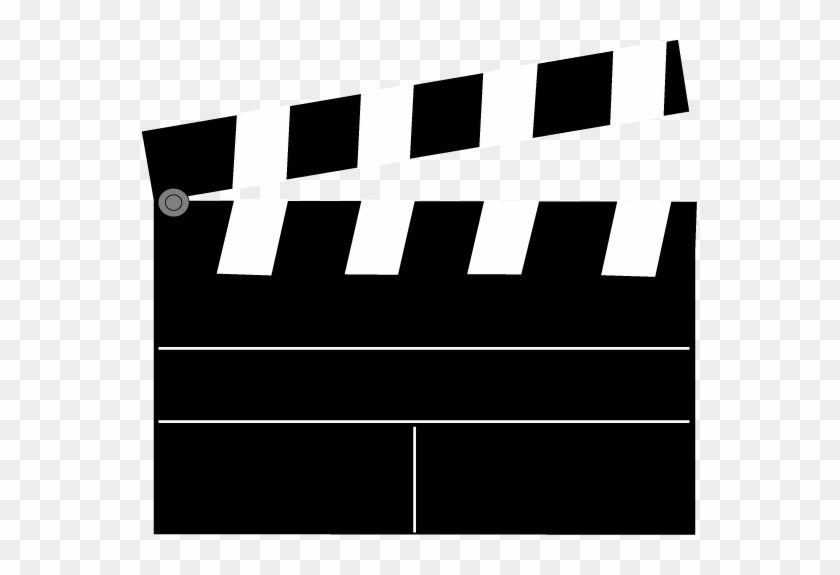 Movie Clapperboard - Clapperboard Blank #8800