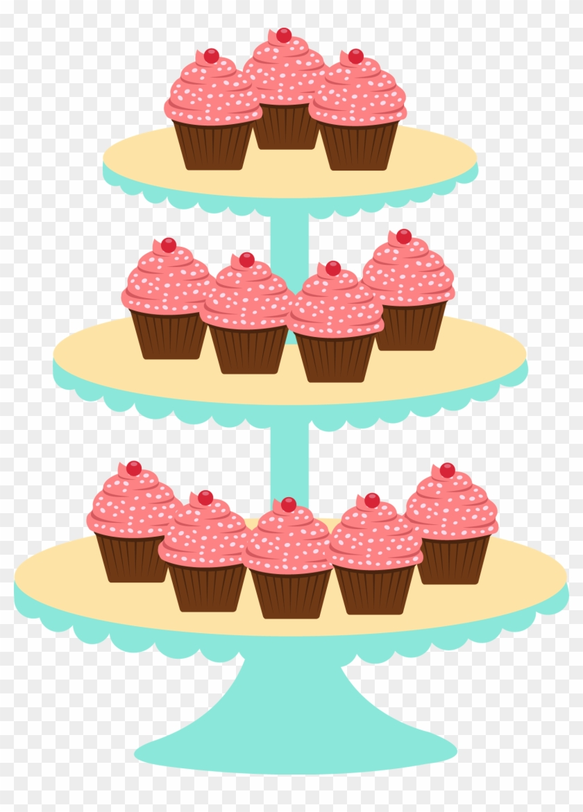 Kitchen Clipart, Cupcake Images, Cake Pictures, Art - Menina Confeitaria Png #8815