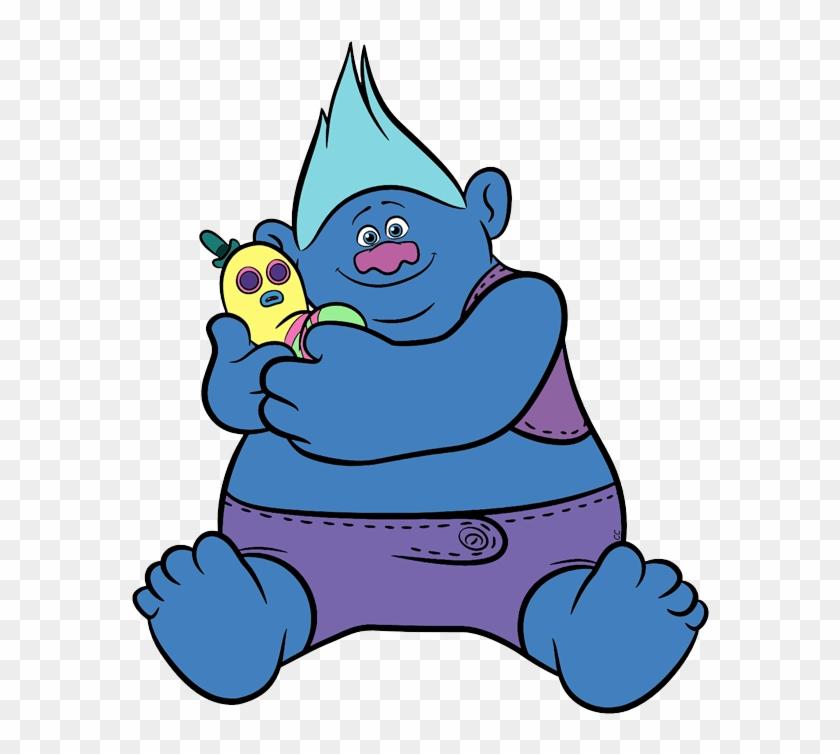 Biggie - Biggie Trolls Coloring Pages #8814