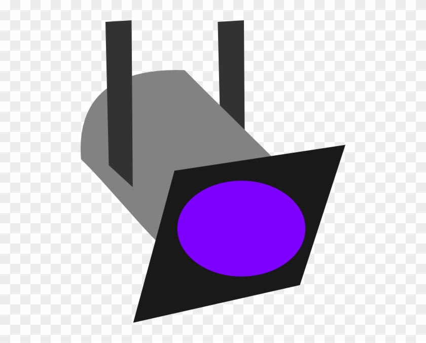 Purple Stage Lights Clipart #8820