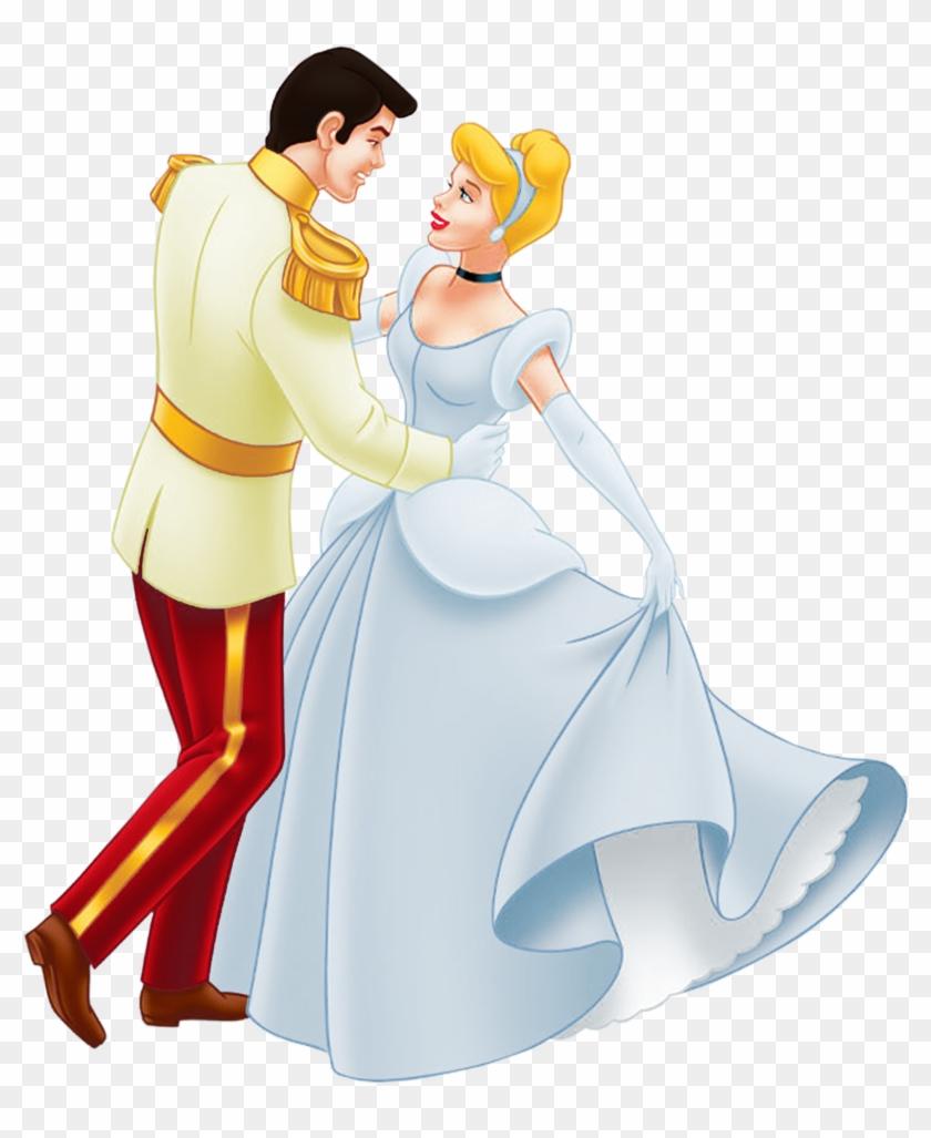 Cinderella Wedding Clipart - Cinderella And Prince Charming #8832
