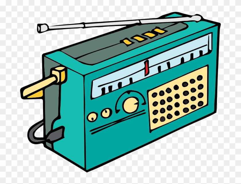 Free To Use Public Domain Radio Clip Art - Kaiydo Red Freestyle #8838