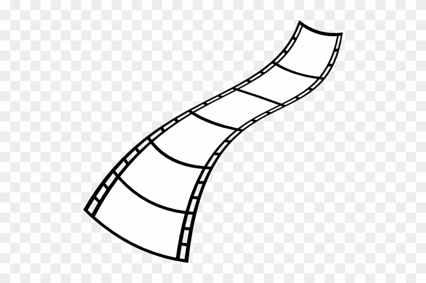 Pix For > Movie Film Strip Clipart - White Film Clipart #8861