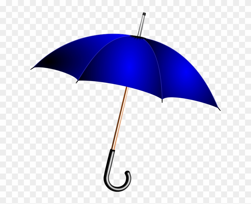 Umbrella Clip Art Download - Blue Umbrella Clipart #8865