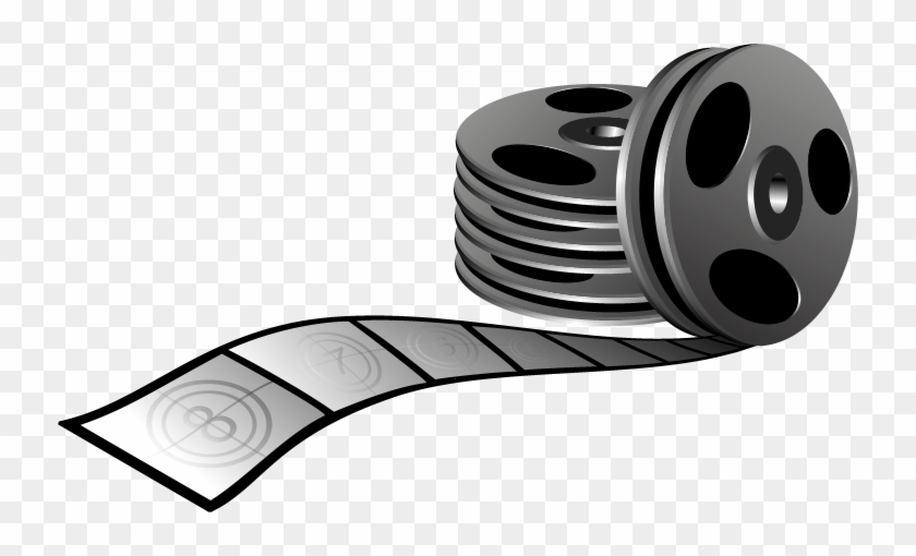 Movie Clipart Scroll - Movie Scrolls #8869