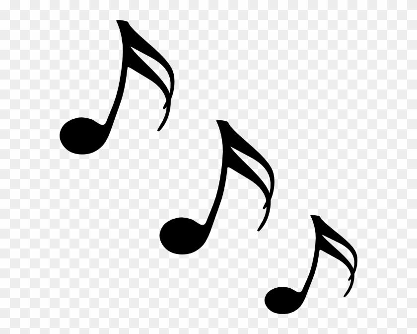 Single Music Notes Clip Art #8895