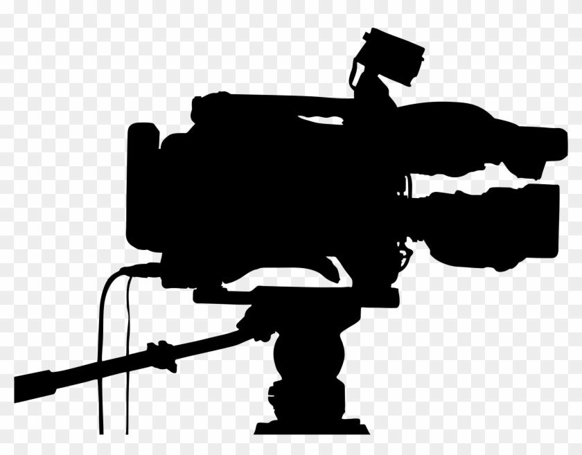 Video Cameras Professional Video Camera Silhouette - Video Camera Silhouette #8897