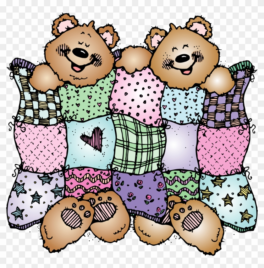 Credential Clipart - Stuffed Animal Sleepover Clipart #8908