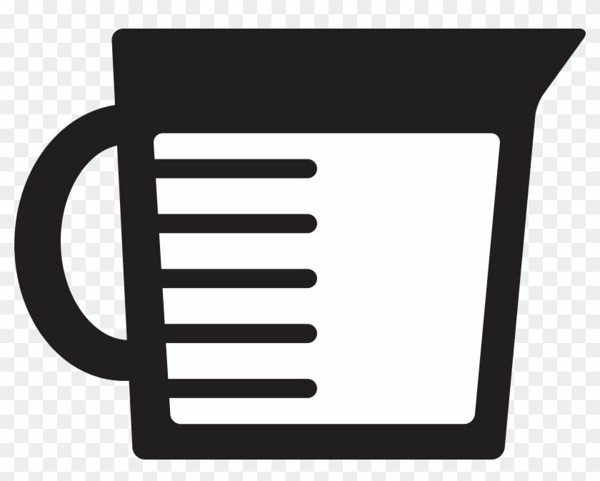 Measuring Cup - Measuring Cup Icon #8945