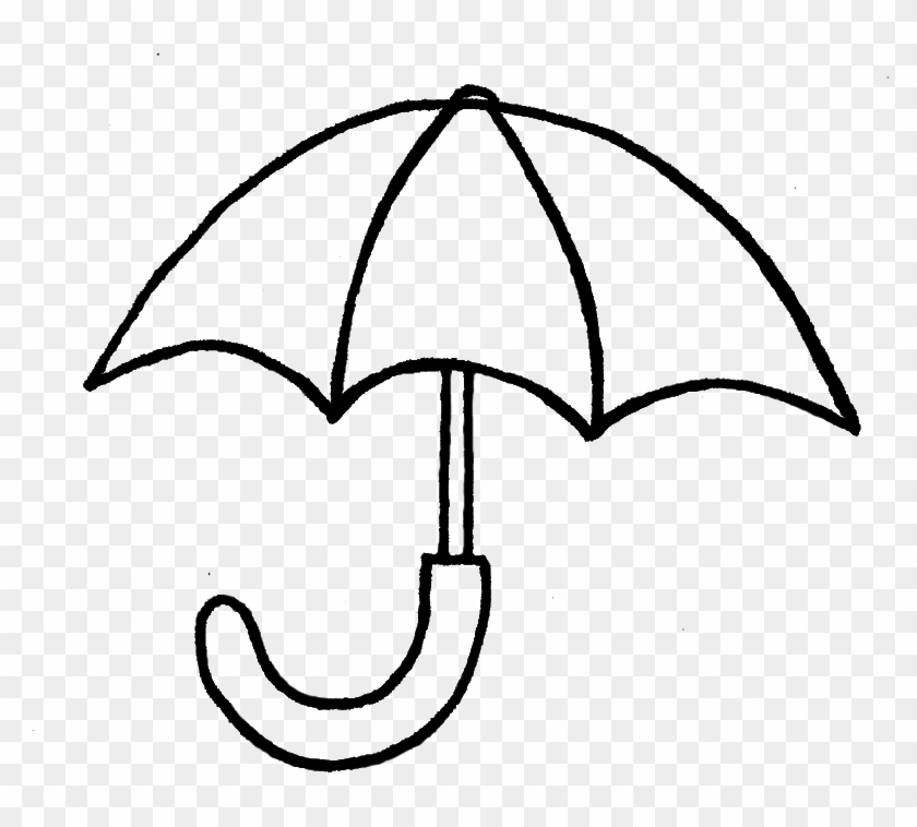 Cute Umbrella Drawing - Drawing Of A Umbrella #8944