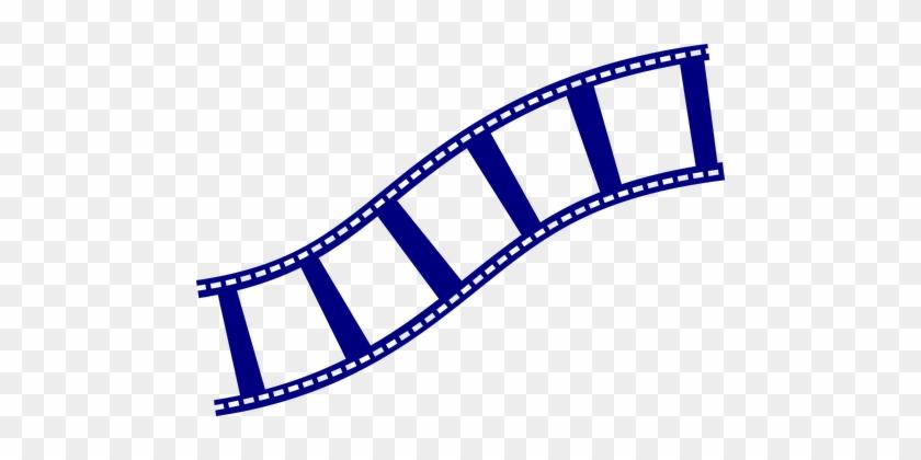 Symbol Film Strip Filmstrip Movie Film Ree - Film Strip Clip Art #9000