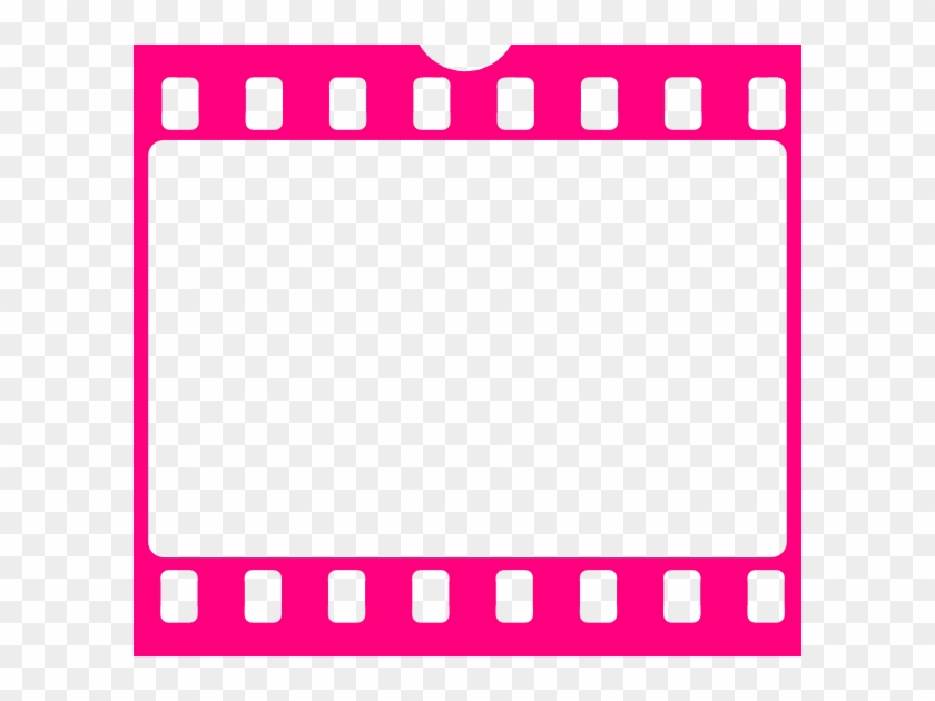 Pink Film Strip Clip Art - Transparent Film Strip Png #9010