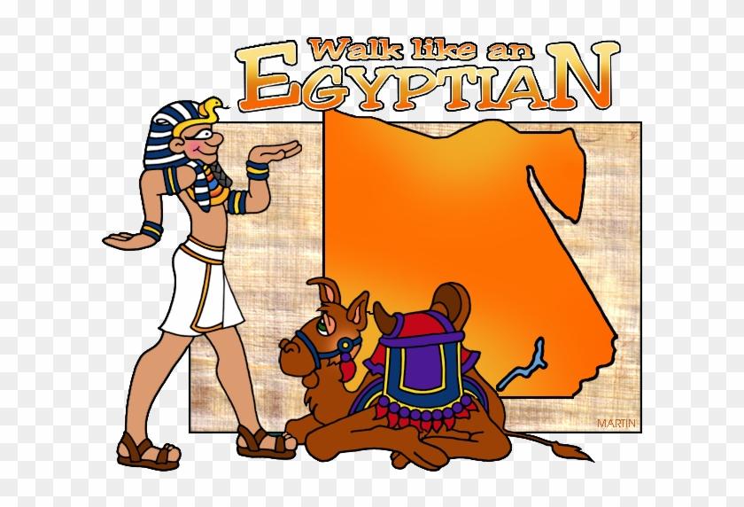 Egyptian Map - Clipart Egypt #9019