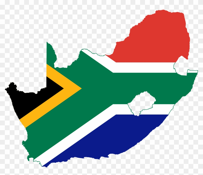 Map Clip Art Clipart Clipartbold 3 Clipartcow - South Africa Flag Map #9028