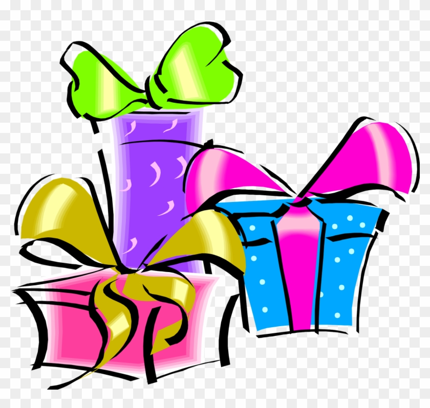 Birthday Gift Png Clip Art - Birthday Gift Clipart #9060