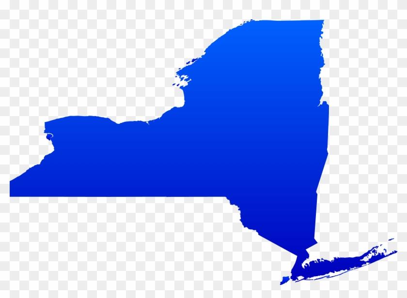 New York State Map Vector - New York State Map Vector #9095