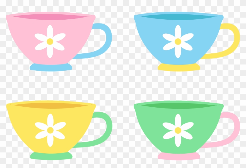 Teacup Teapot Clip Art - Cute Tea Cup Clipart #9091