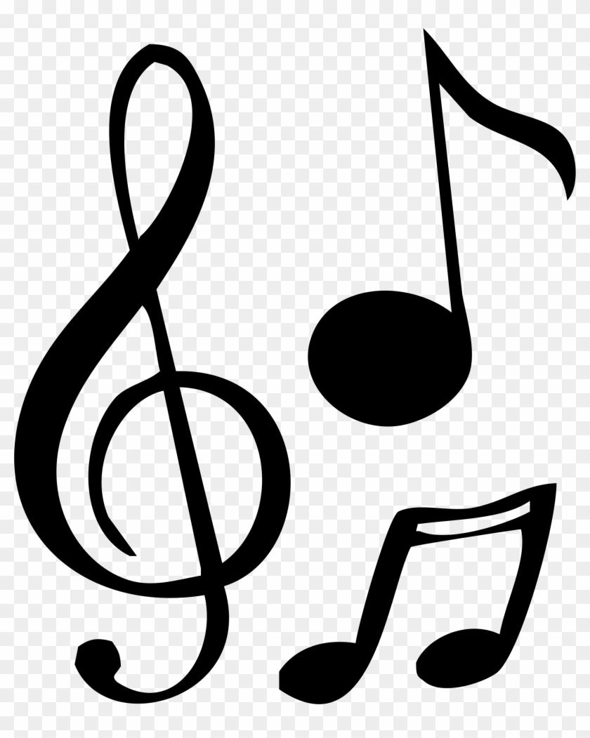 Big Image - Note De Musique Dessin #9079