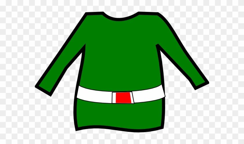 The Elf Pants Clip Art - Elf Top Clip Art #9082