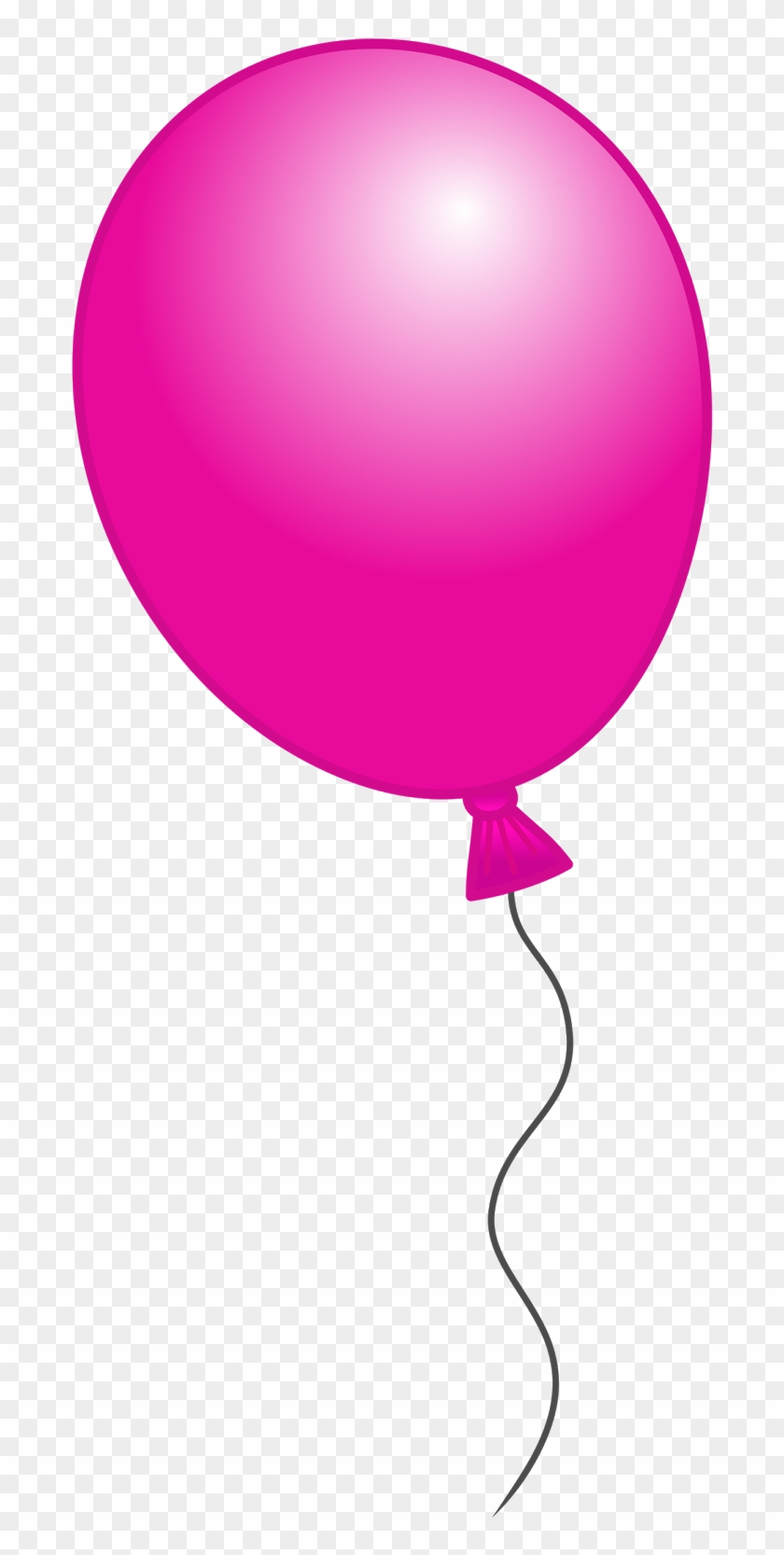 Fuschia Balloon Cliparts Free Download Clip Art Free - Balloon #9108