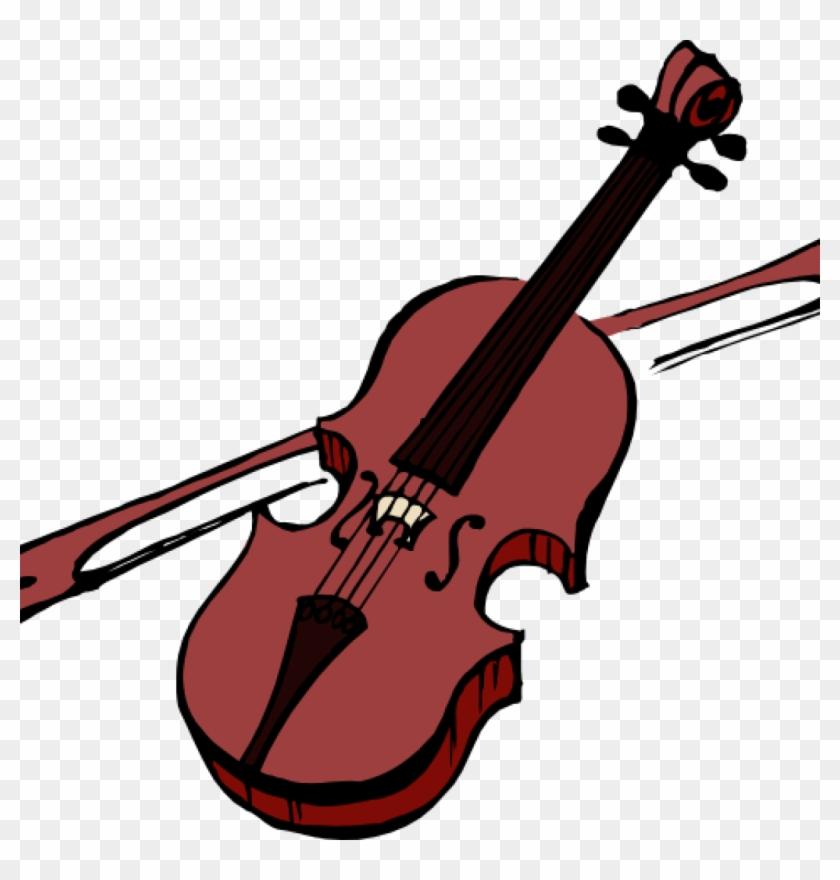 Boy Playing Violin Clipart, Clip Art Violence, Clip - Violin Clip Art #9118