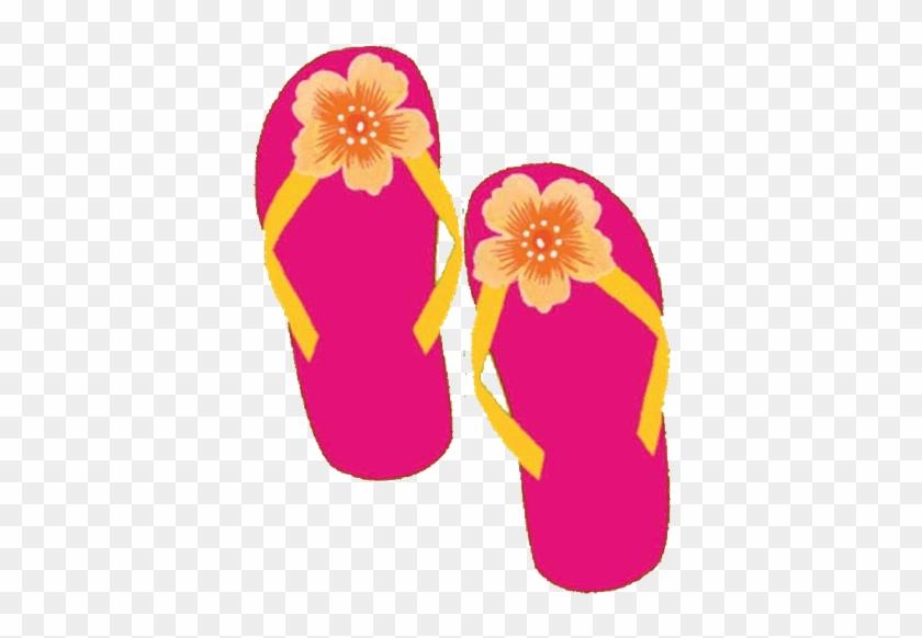 Sandal Clipart Luau - Luau #9123