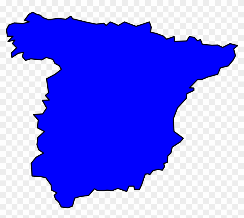 Map Of Spain Download Free.Spain Map Silhouette Free Transparent Png Clipart Images Download