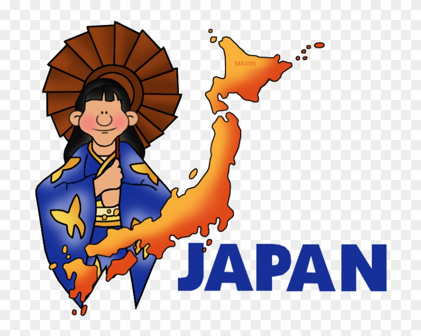 Japan Clipart Japan Clip Art Phillip Martin Map Of - Japan Map Clipart Png #9140