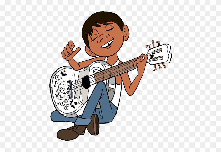 Miguel Playing Guitar