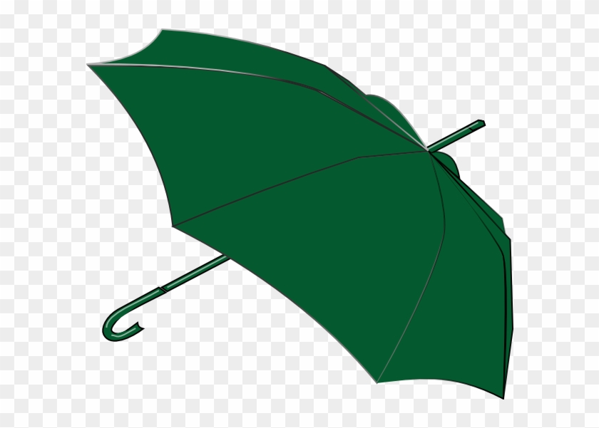 Umbrella Royalty-free Clip Art - Umbrella Green Png #9175