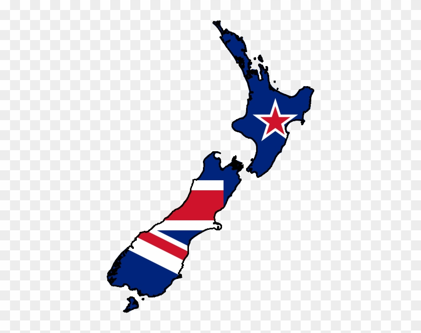 New Zealand Clipart New Zealand Map Clipart - New Zealand Map Png #9179
