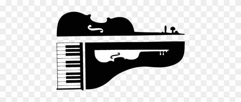 Music Tutors & Instrument Repair - Piano And Violin Clip Art #9210